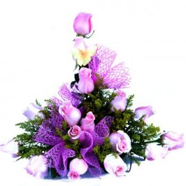 Passion in Purple Floral Display