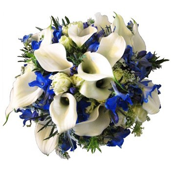 Balance in Blue Bouquet